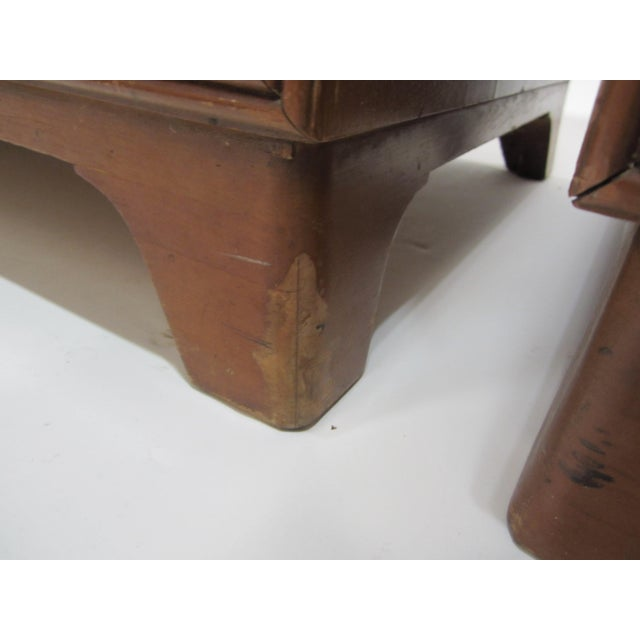 Flared Leg Chests of Drawers - A Pair - Image 7 of 10