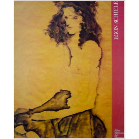 Image of 1989 Egon Schiele American Exhibition Poster