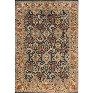 "Apadana Antique Persian Tabriz Rug - 6'4"" x 9'5"""