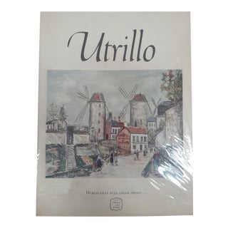 Utrillo Art Book by Abrams 12 Prints