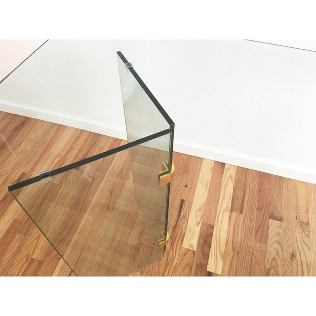 Beveled Glass Dining Table - Image 6 of 8