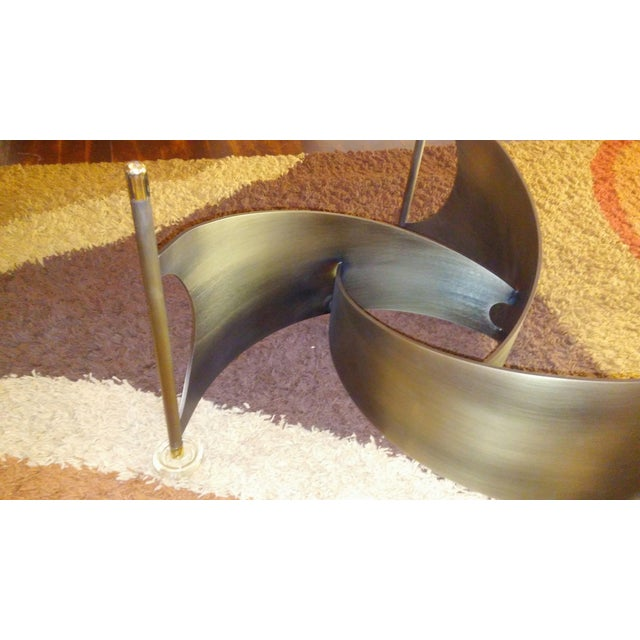 Mid-Century Propeller Base Coffee Table - Image 5 of 9