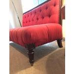 Image of Ralph Lauren Mahogany Simsbury Settee Sofa