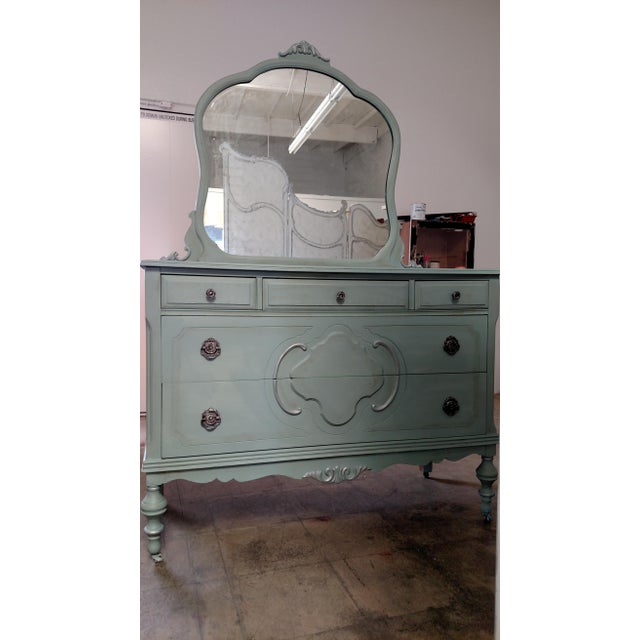 Refinished Vintage French Provincial Dresser - Image 3 of 6