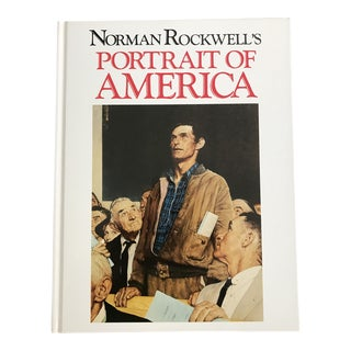 Vintage Norman Rockwell Coffee Table Book
