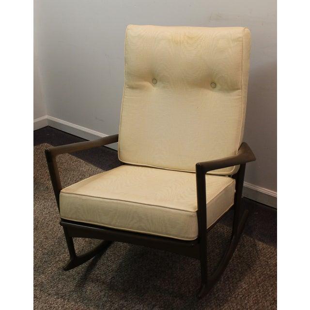 Image of Danish Modern Ib Kofod Larsen Walnut Rocking Chair
