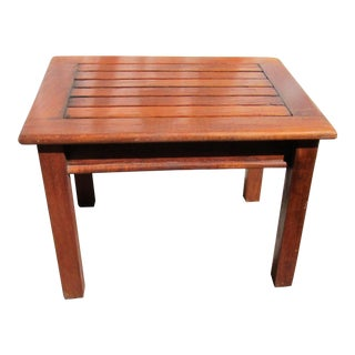Gloster Teak Side Table