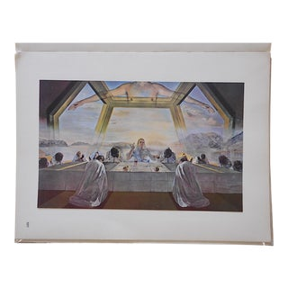 Vintage Ltd. Ed. Surrealist Lithograph-Salvador Dali-France-1957
