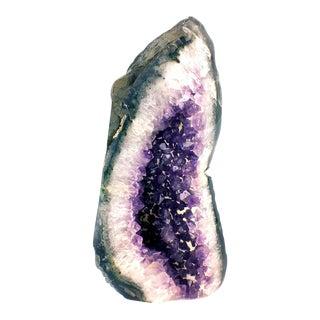 Amethyst Cathedral Geode Crystal Specimen