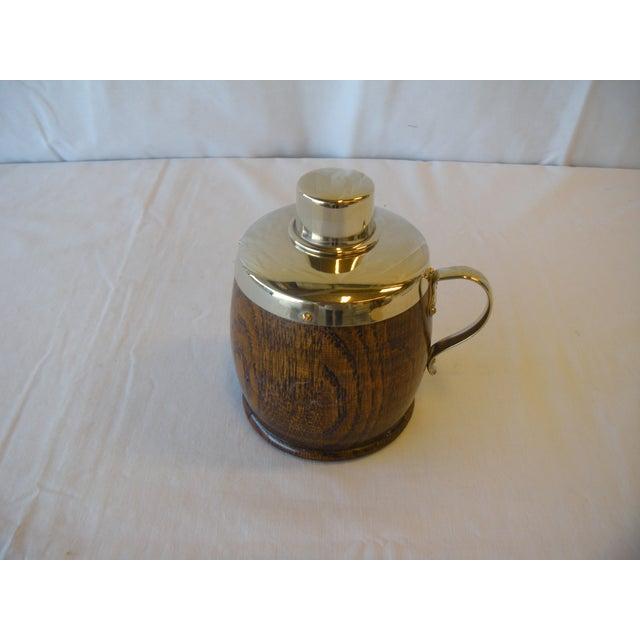 Antique English Oak Tea Caddy - Image 2 of 4