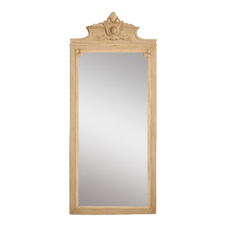 French Painted Mirror, circa 1890