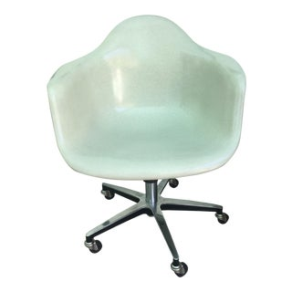 Modernica Case Study Fiberglass Arm Shell Rolling Chair