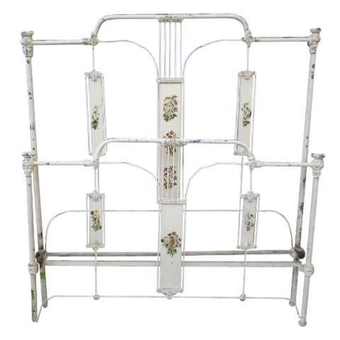 Image of Antique Iron Full Bed