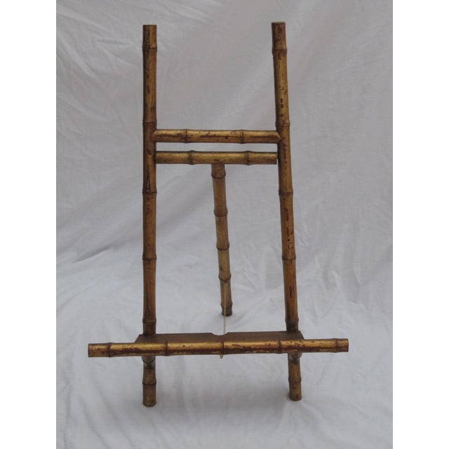 Transitional Large Florentine Style Bamboo Easel - Image 2 of 10