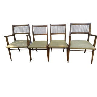 Mid Century Drexel Dining Chairs John Van Koert - Set of 4
