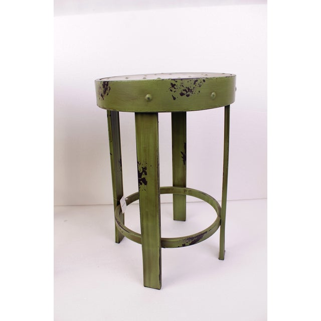 French Bistro Stools - A Pair - Image 4 of 7