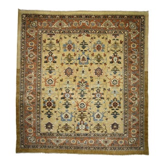 Vintage Persian Sultanabad Rug with Traditional Modern Style, 16'4 x 17'8