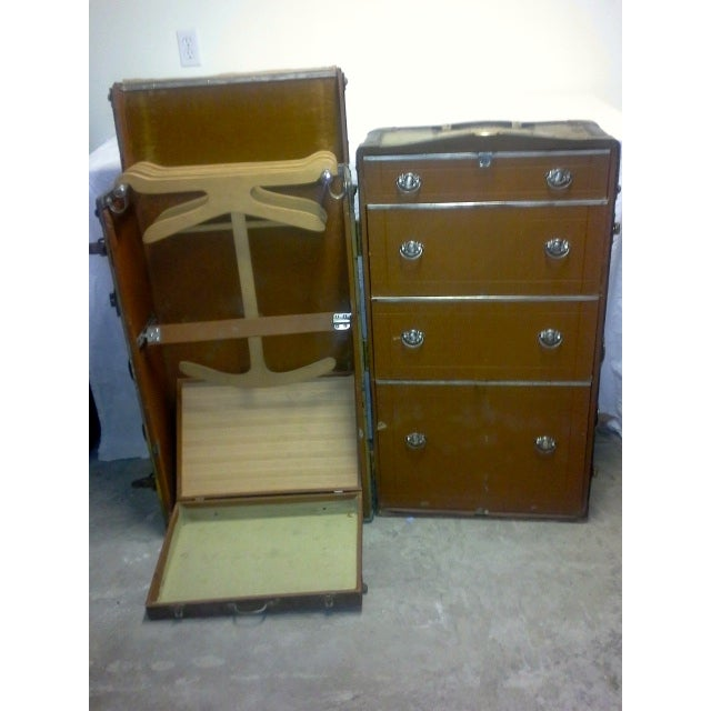 1900s Everwear Trunk Company Steamer - Image 2 of 6