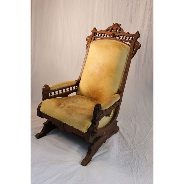 Vintage Secret Society Rocking Chair - Image 2 of 7