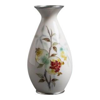 A Japanese Cloisonné Enamel Vase by Tamura circa 1950 (KM024)