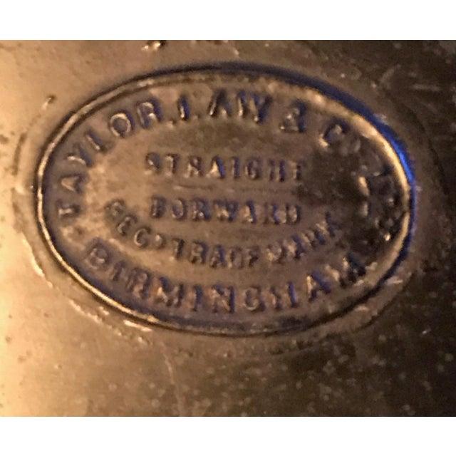 Large English Metal Strong Box - Image 3 of 11