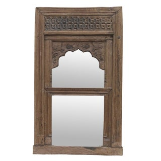 Antique Mudejar Arch Mirror
