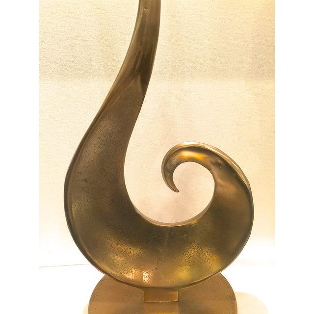 Image of Bronze Colored Mid-Century Modern Sculpture