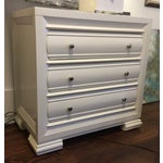 Image of Transitional Chest With Ivory Finish