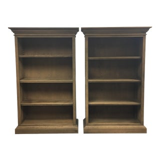 Restoration Hardware French Panel Bookshelves - A Pair