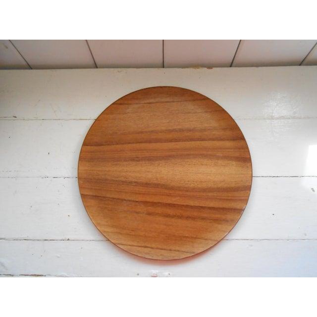 Koa Wood Trays - A Pair - Image 5 of 7
