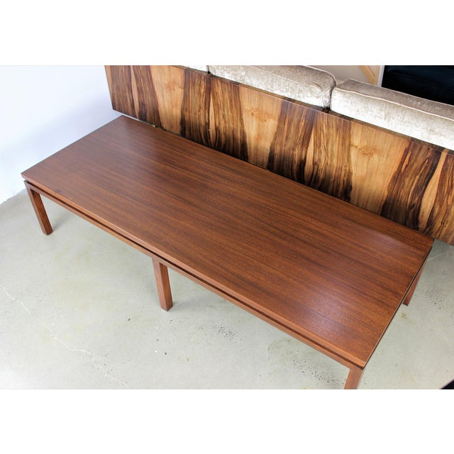 Harvey Probber Mahogany Coffee Table - Image 3 of 8