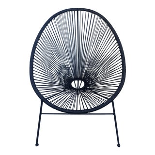 Woven Onyx Acapulco Chair