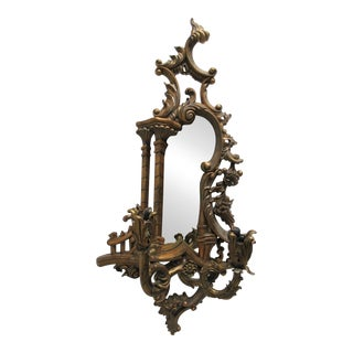Theodore Alexander Mirror Bronze Wall Sconce Candelabra