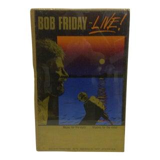 1980 Vintage Bob Friday Concert Poster