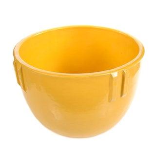 Bauer Original 1915 Indian Pot, Glazed Yellow