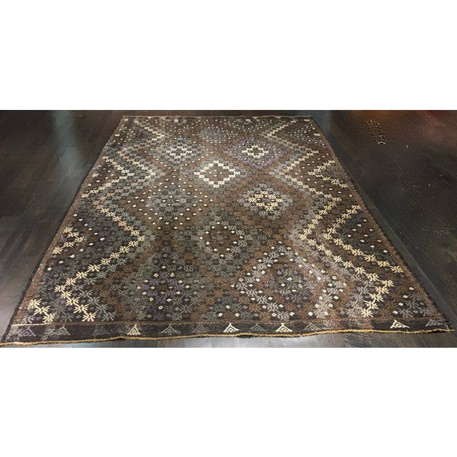 "Bellwether Rugs Turkish Jijim Kilim Rug - 7'3"" X 10'10"" - Image 2 of 9"