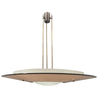 Awesome Max Ingrand for Fontana Arte Chandelier