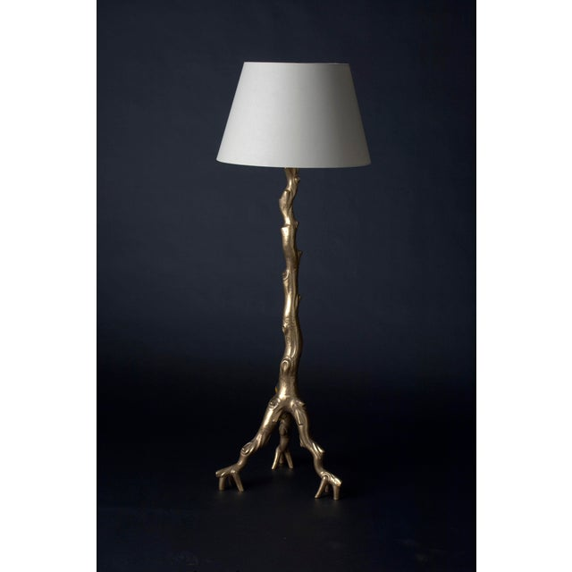 Twig Floor Lamp - 24K Gold Plate - Image 2 of 3