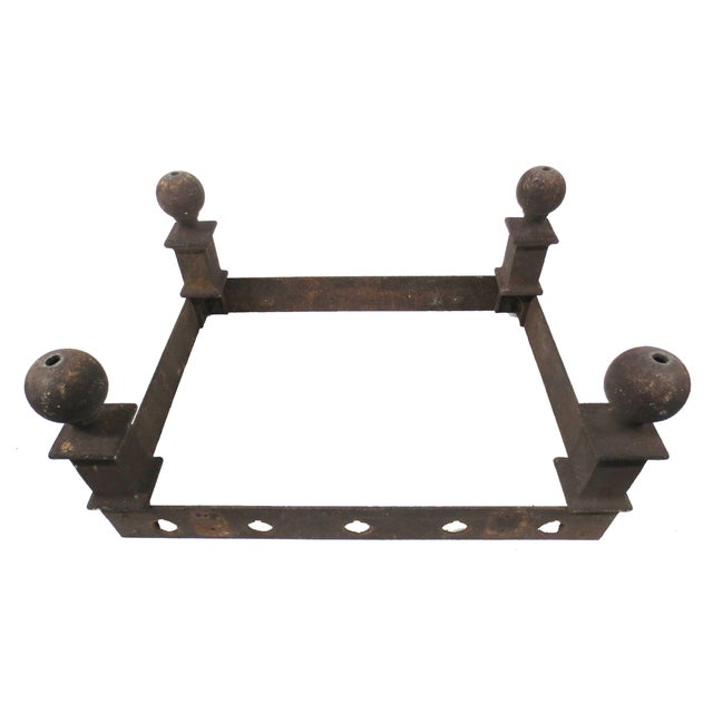 Image of Industrial Cast Iron Coffee Table Base