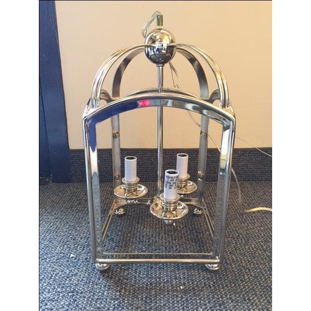 Visual Comfort Arch Top Mini Lantern in Nickel - Image 5 of 7