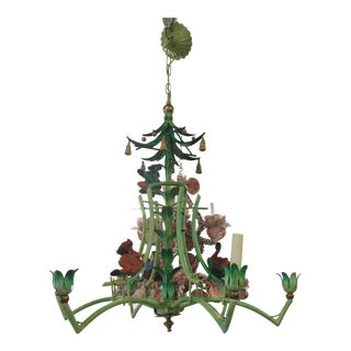 Vintage Playful Men Monkey Chandelier