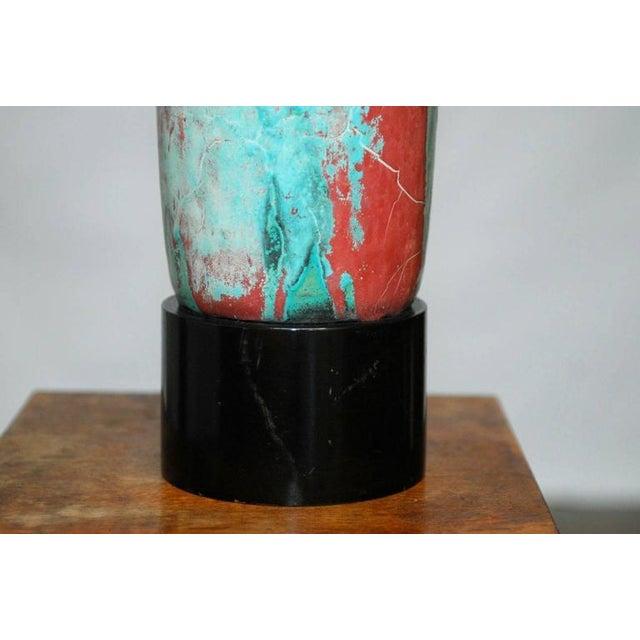 Image of Danish Modern Mobach Ceramic Table Lamp