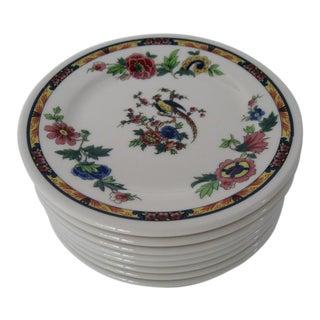Vintage Syracuse Porcelain Plates - Set of 8