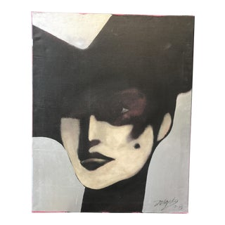 1978 Pop Art Portrait Painting