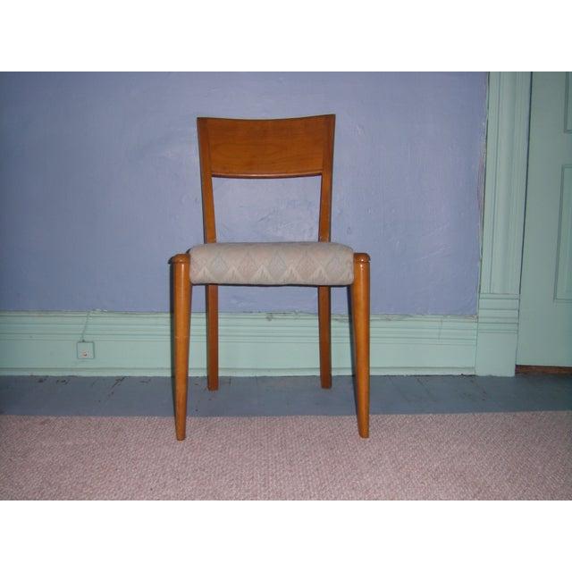 Heywood Wakefield Keyhole Desk & Chair - Image 7 of 11