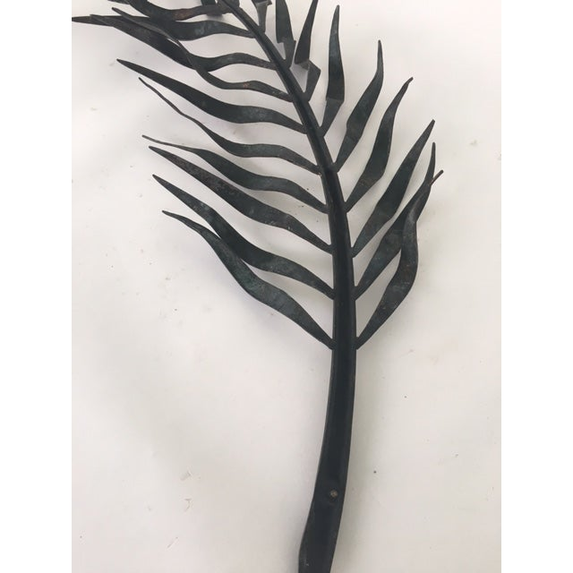 Cowtan & Tout Bronze Palm Frond - Image 7 of 8
