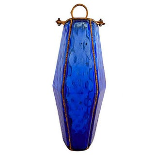 Cobalt Blue Italian Murano Glass Pendant