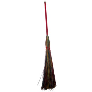 Hand Made Artisan Crafted Signed Broom