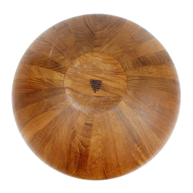 Jens Quistgaard Dansk Teak Centerpiece Bowl - Image 5 of 6
