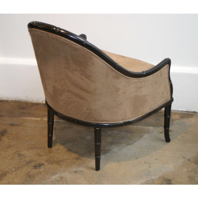 Faux Bamboo Midcentury Chairs - A Pair - Image 3 of 3